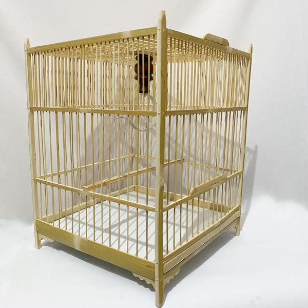 Khung lồng ép mộc chim chào mào dễ dàng lắp đặt hàng loại 1 kèm móc