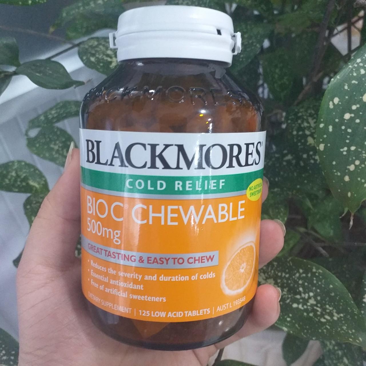 Viên Bio vitamin C Blackmores 500 mg cao cấp
