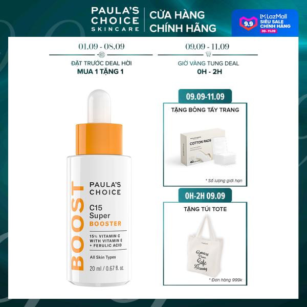 Tinh chất chống lão hóa chứa Vitamin C Paula's Choice C15 Super Booster-7770 giá rẻ