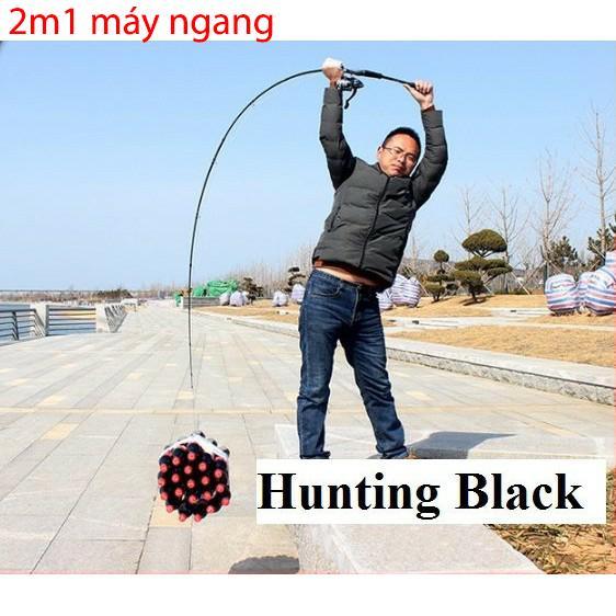 Cần câu lure Hunting Black siêu bạo lực ( cần câu cá giang nam )