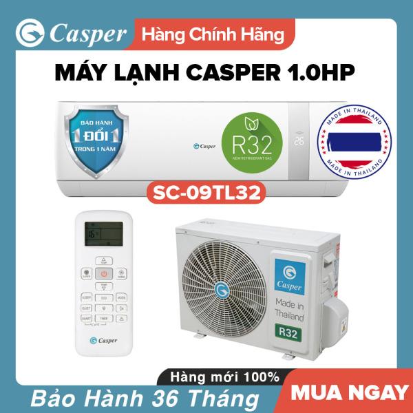 Bảng giá Máy Lạnh Casper 1HP - Model SC-09TL32 (Trắng) Dưới 15m2, Công Suất 9000BTU, Gas R32, Đổi mới 1 năm, Nhập khẩu Thái Lan, Máy Lạnh Giá Rẻ Chất Lượng - Bảo Hành 3 Năm Điện máy Pico