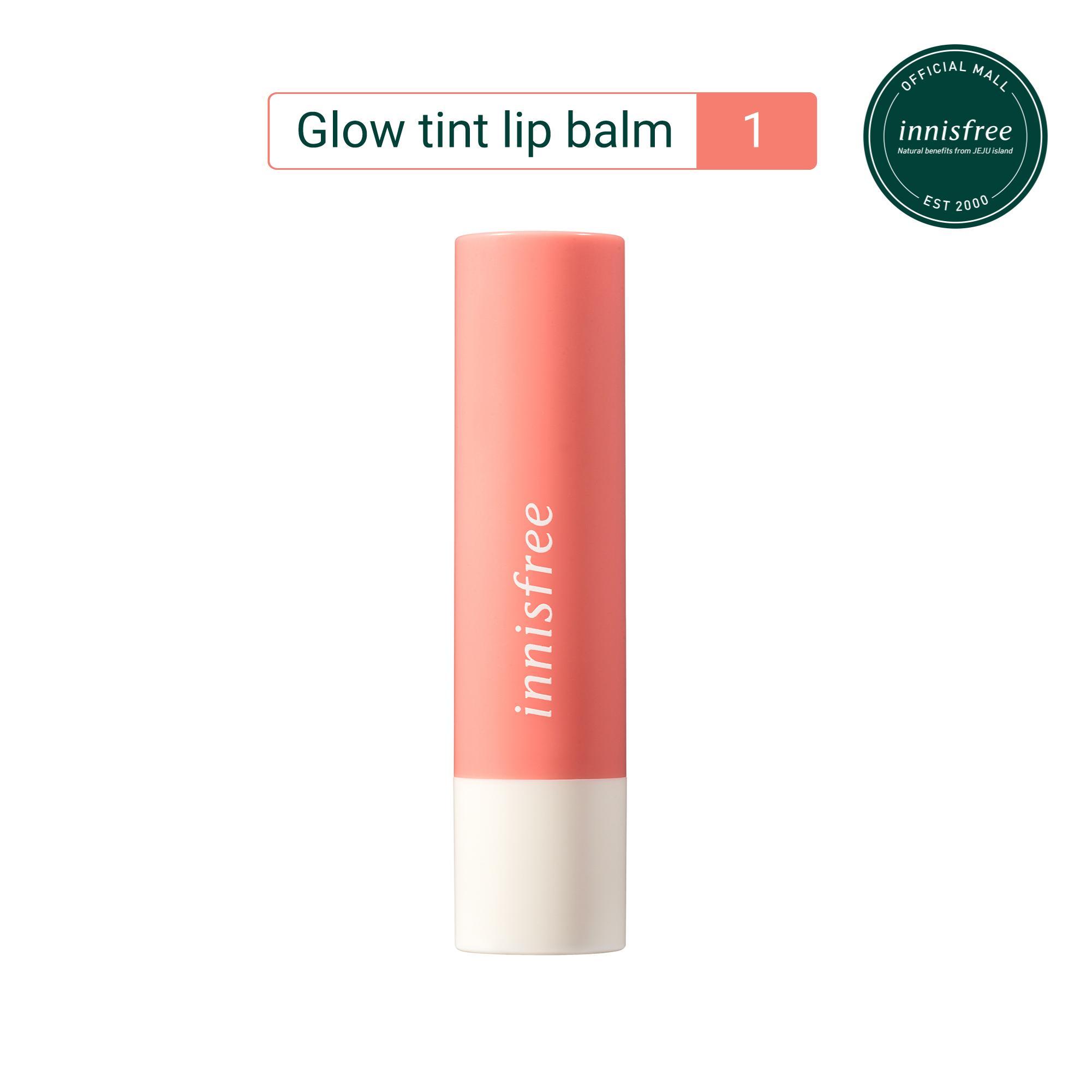 Son dưỡng có màu innisfree Glow Tint Lip Balm #1 3.5g