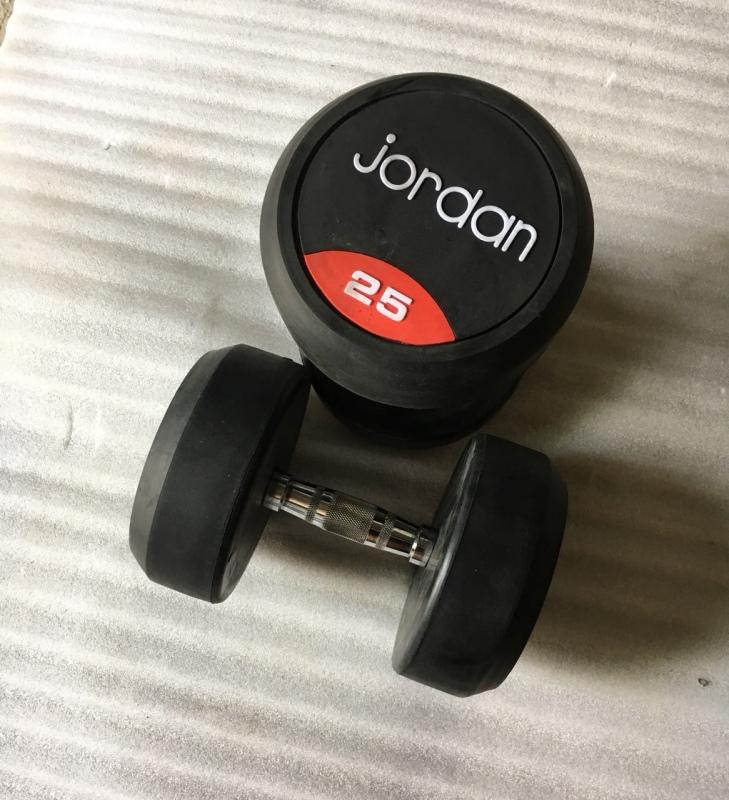 Bảng giá Tạ tay cao su jordan 25kg (1 đôi)