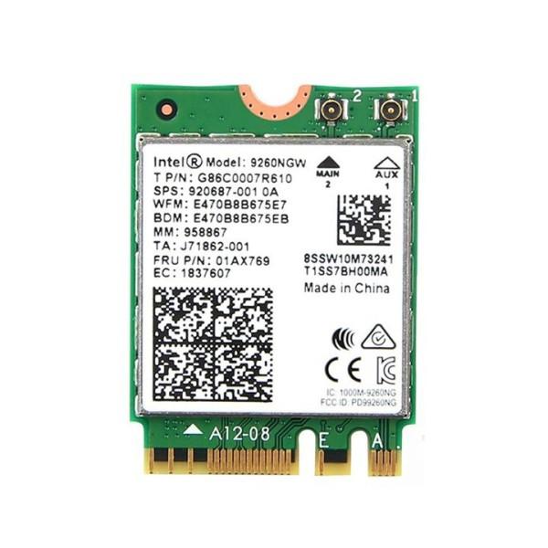 Bảng giá Card wifi chuẩn AC MU-MIMO 1.73Gbps tích hợp bluetooth 5.0 Intel 9260NGW - PK06 Phong Vũ