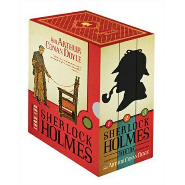 Sách - Sherlock Holmes Trọn Bộ 3 Tập Tái Bản