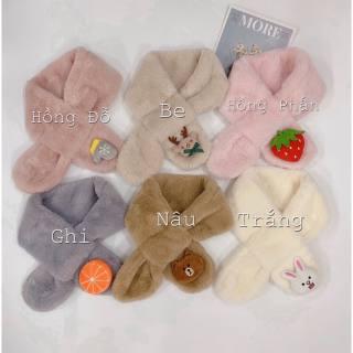 Khăn lông quàng cổ điệu đà cho bé gái cam kết sản phẩm đúng mô tả chất lượng đảm bảo an toàn đến sức khỏe người sử dụng
