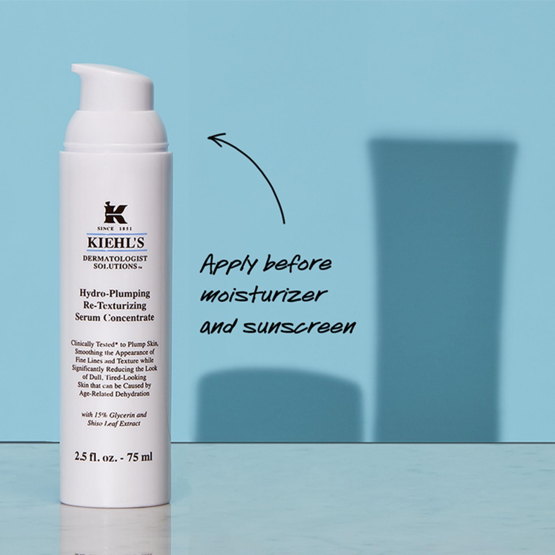 Dưỡng Chất (Serum) Dưỡng Ẩm Kiehl's Hydro-Plumping Re-Texturizing Serum Concentrate 15ML