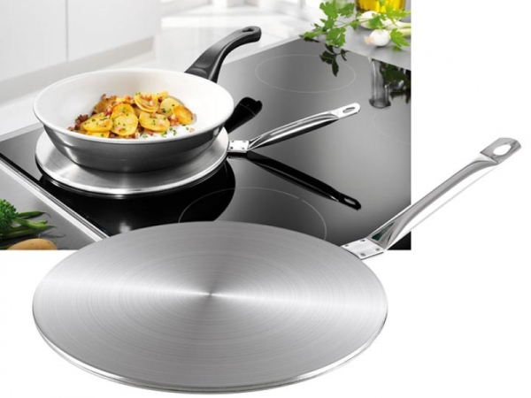 Đế lót bếp từ chuyển nhiệt dùng cho bếp từ 22cm