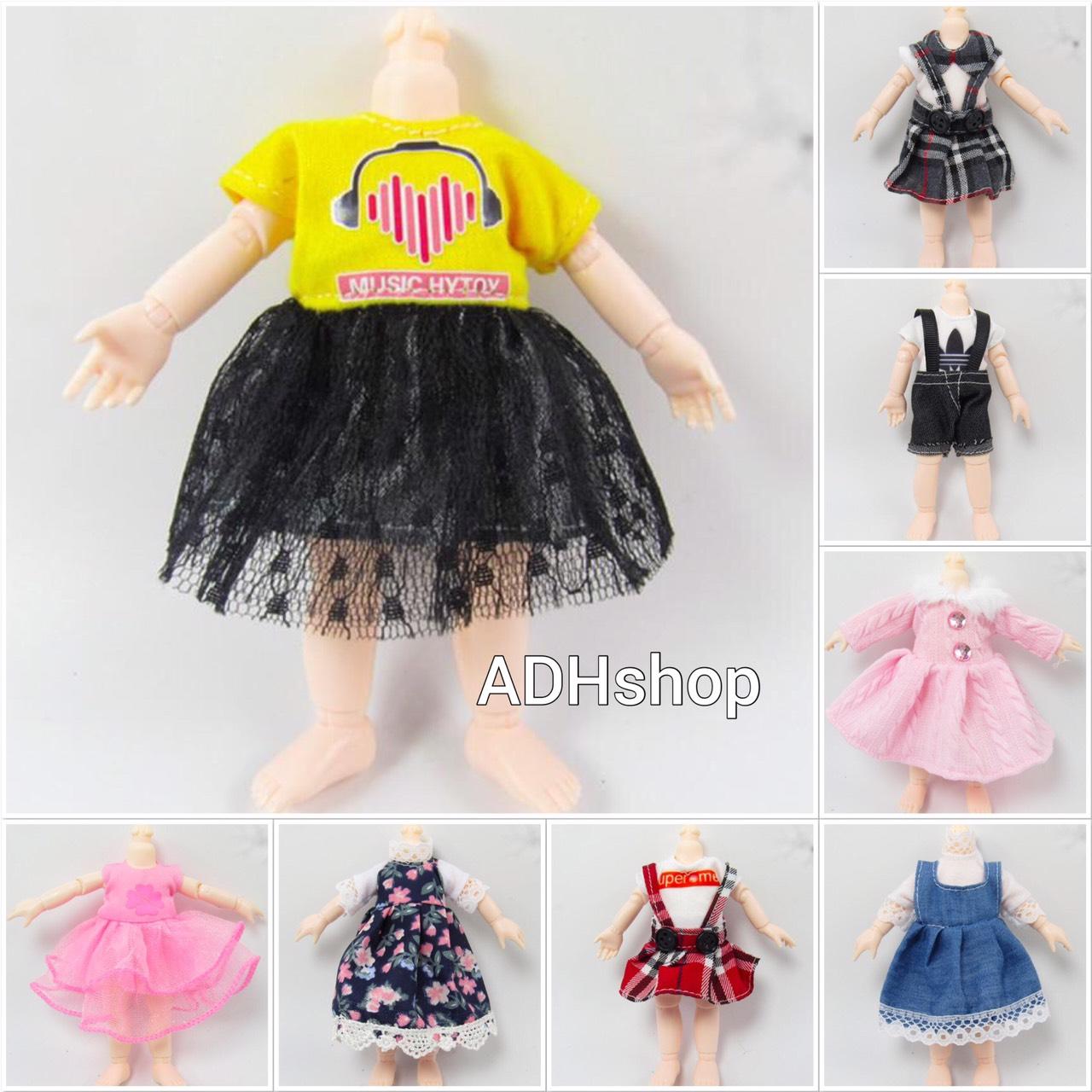 Mẫu Váy đầm Và Quần áo Cho Baboliy 16cm Giá Siêu Rẻ