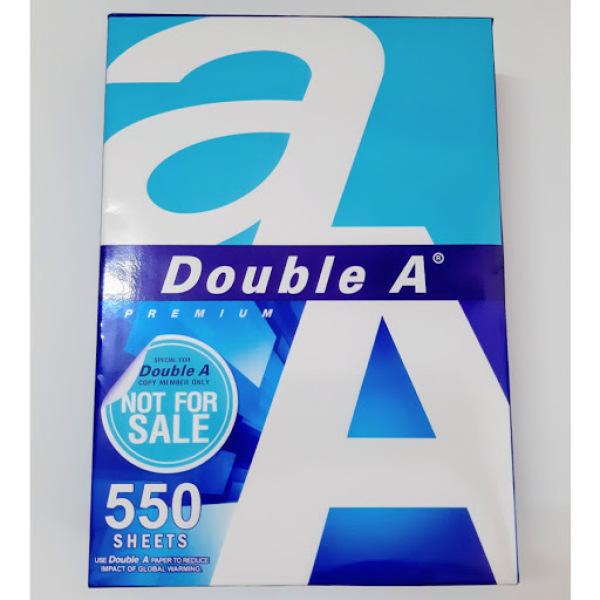 Mua Giấy A4 in photo Double A 550 TỜ MỚI NHẤT 70gsm - ĐƯỢC TẶNG THÊM 50 TỜ/REAM