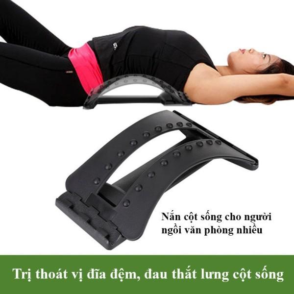 Khung nắn chỉnh cột sống thoát vị đĩa đệm, đau thắt lưng, ngồi nhiều