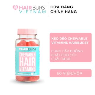 Kẹo dẻo Hairburst Chewable Hair Vitamins 5g 60 Viên thumbnail