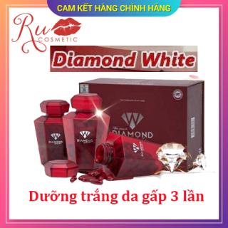 [ KHUYẾN MẠI] HÀNG CHÍNH HÃNG Viên uống trắng da Ngọc Trinh Beauty Diamond White, Trắng da chống nắng, trị nám tàn nhang, KHUYẾN MẠI MUA 3 TẶNG 1 ĐÔNG TRÙNG LINH CHI HOẶC 2 SỮA ONG CHÚA thumbnail