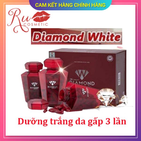 [ KHUYẾN MẠI] HÀNG CHÍNH HÃNG Viên uống trắng da Ngọc Trinh Beauty Diamond White, Trắng da chống nắng, trị nám tàn nhang, KHUYẾN MẠI MUA 3 TẶNG 1 ĐÔNG TRÙNG LINH CHI HOẶC 2 SỮA ONG CHÚA