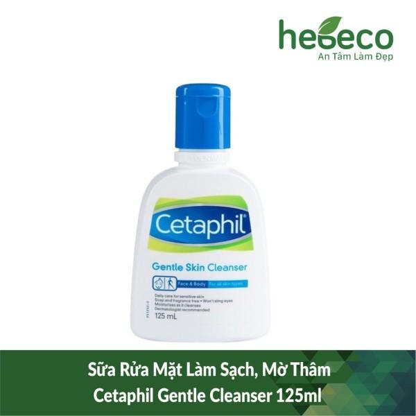 Sữa rửa mặt làm sạch mờ thâm cetaphil gentle cleanser 125ml - canada, cam kết hàng đúng mô tả, chất lượng đảm bảo an toàn đến sức khỏe người sử dụng giá rẻ