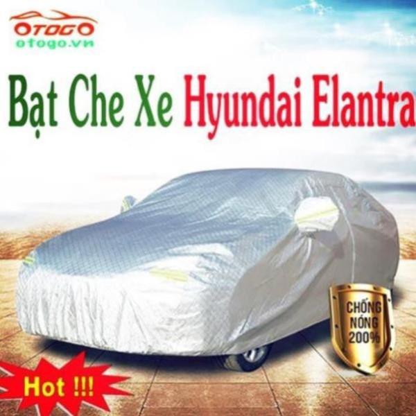 Bạt Phủ Xe Ô Tô Cao Cấp Hyundai Elantra 2018-2019-2020