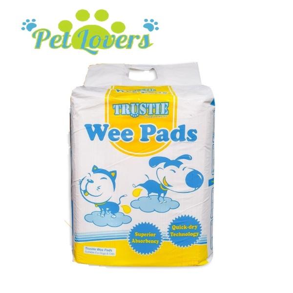 Trustie - Miếng lót vệ sinh Wee Pads cho thú cưng chó và mèo size S, M ,L