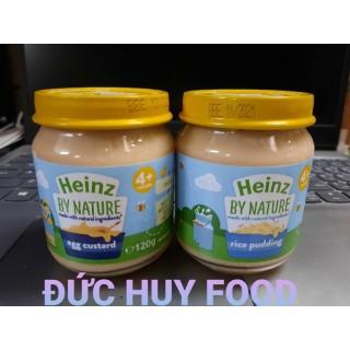 [Freeship+Voucher]Hũ ăn dặm dinh dưỡng Heinz Anh 120g(trứng sữa 4m+), cam kết hàng đúng mô tả, chất lượng đảm bảo, an toàn đến sức khỏe của trẻ thumbnail