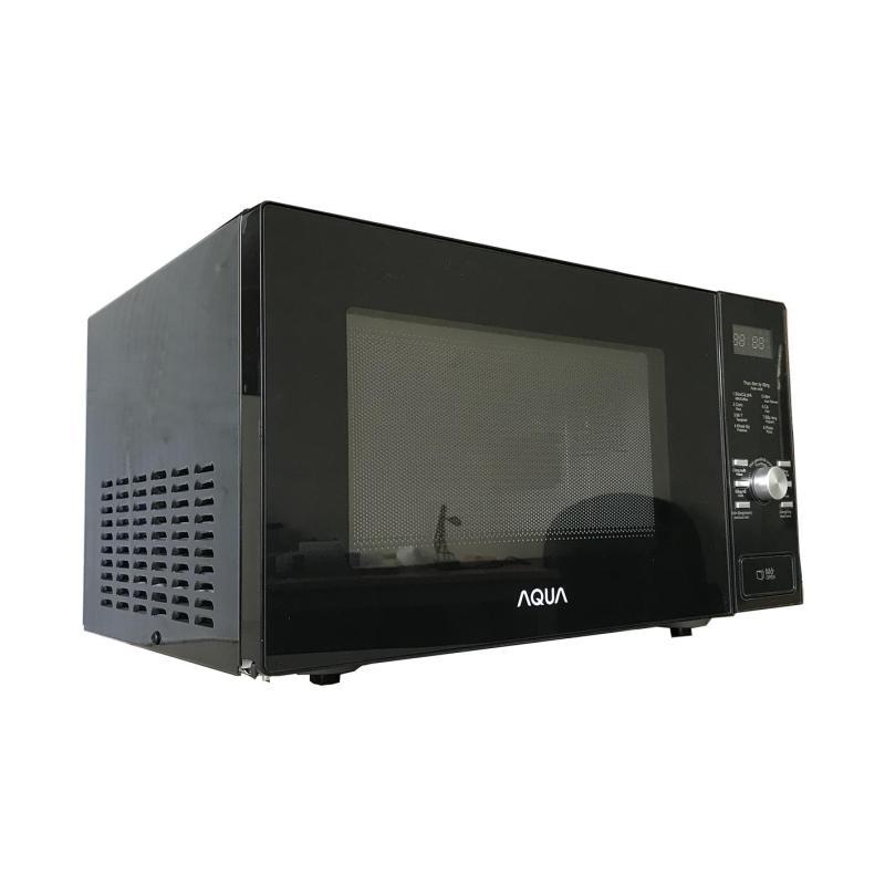 Lò Vi Sóng cao cấp Aqua 25Lít - hiển thị đèn LED - lập trình chức năng - Microwave tiêu chuẩn Châu Âu (đen bóng)