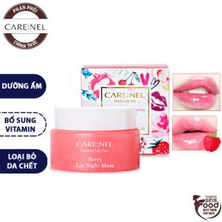 Mặt Nạ Ngủ Môi Carenel Lip Night Mask - Berry 23g thumbnail