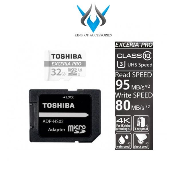 Thẻ nhớ MicroSDXC Toshiba Exceria Pro M401 64GB UHS-I U3 4K 95MB/s (màu ngẫu nhiên) - Phụ Kiện 1986