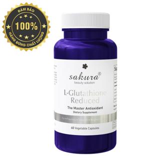 Viên uống trắng da chống lão hóa Sakura L-Glutathione Reduced 1