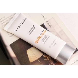 Kem chống nắng nâng tone Karadium Sun Cream SPF 50+ 70ml - Hàn Quốc - không đổi trả, phục hồi và trẻ hóa làn da, giảm sự hình thành các nếp nhăn thumbnail
