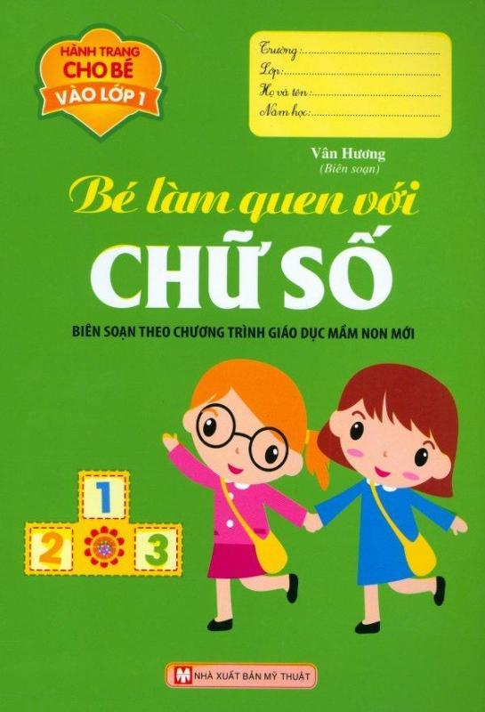 Mua Hành Trang Cho Bé Vào Lớp 1 - Bé Làm Quen Với Chữ Số