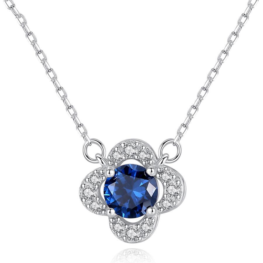 Dây chuyền bạc nữ S925 đính đá cao cấp DB2394  Bảo Ngọc Jewelry