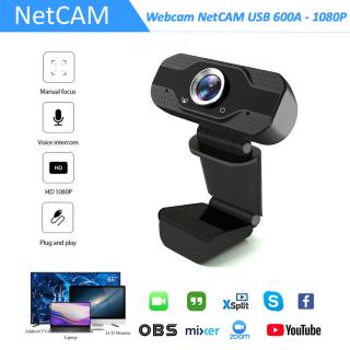 Webcam NetCAM USB 600A độ phân giải 1080P - Hãng phân phối chính thức thumbnail
