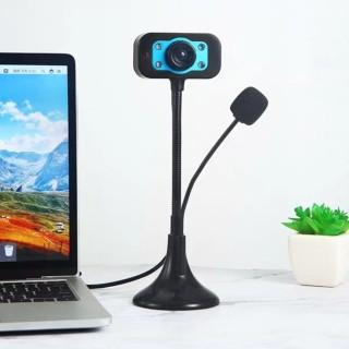 Camera Học Online HCM, Webcam Máy Tính, Webcam Full HD Có Mic Hỗ Trợ Học Online Và Làm Việc Trực Tuyến, Tương Thích Win 7,8 8.1,10,Hình Ảnh Rõ Nét, Mic Không Bị Rè Hay Rú, Hàng Có Sẵn. Bảo Hành 1 Năm thumbnail