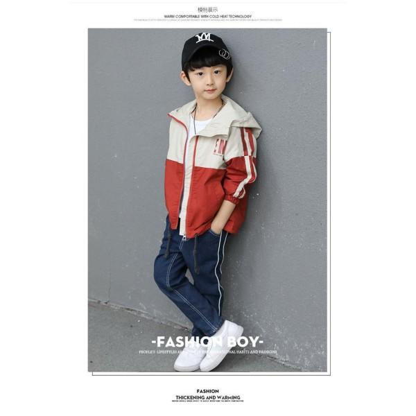 áo khoác cho bé, áo khoác dù trẻ em UNISEX từ 5 đến 14 tuổi M852