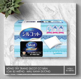 Silcot Bông Trang Điểm (bông tẩy trang) Nhật Bản (Hộp 82 miếng)-Trúc Cosmetics thumbnail