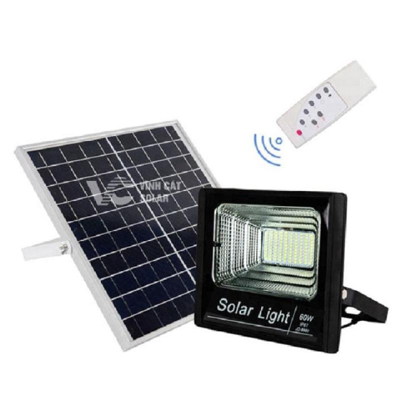 Đèn Led năng lượng mặt trời 60W- chống nước chế độ IP65, BH 12 tháng