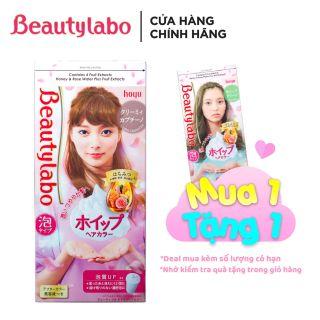 [MUA 1 TẶNG 1] Thuốc nhuộm tóc tạo bọt Beautylabo 125ml Whip Hair Color Nhật Bản thumbnail
