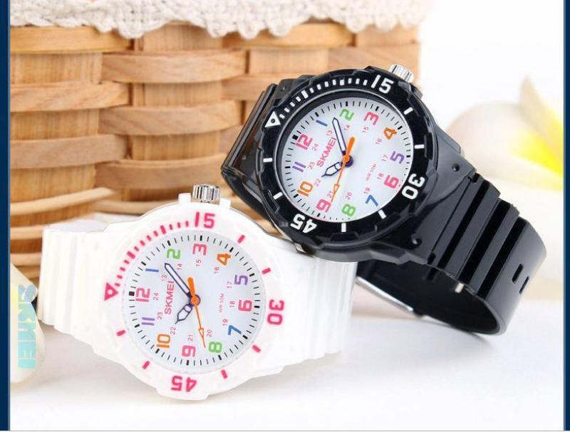 Đồng hồ trẻ em Skmei 1043 kiểu dáng xinh xinh đáng yêu(Cập nhật 2019) bán chạy