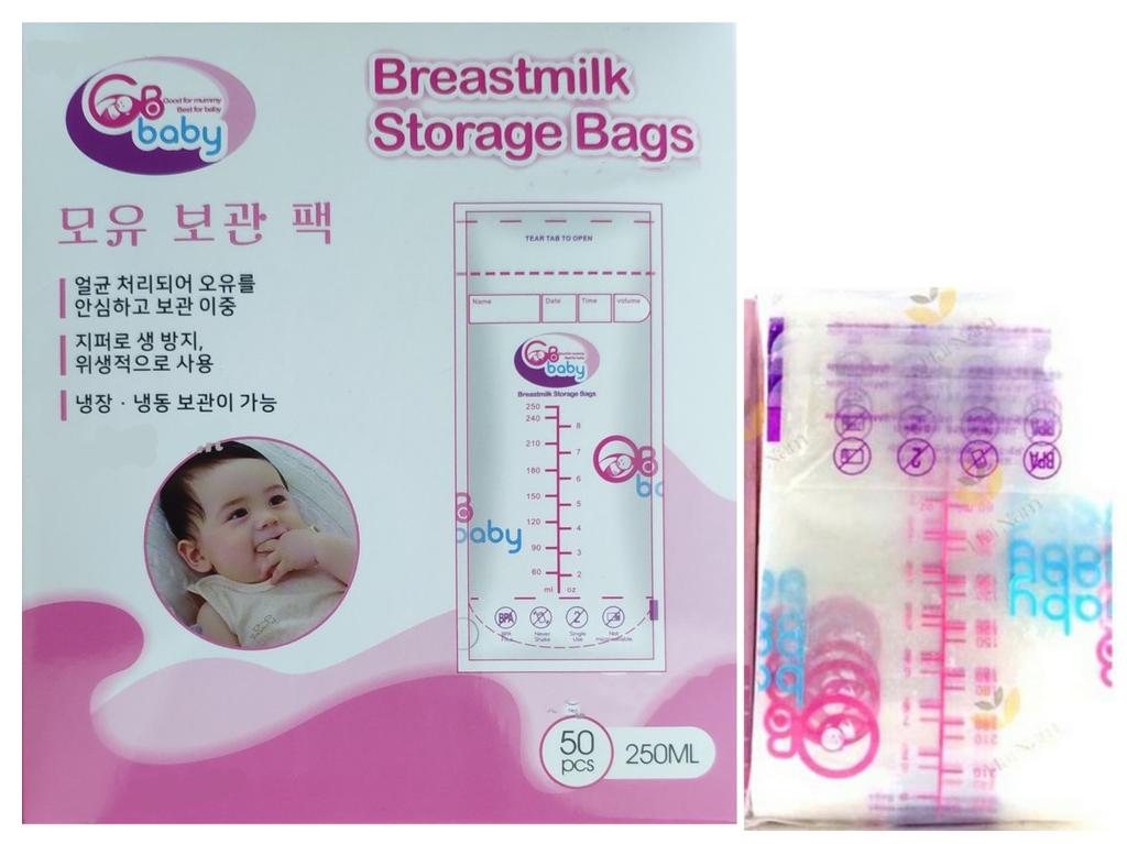 Coupon Khuyến Mại Hộp 50 Túi Trữ Sữa GB BABY An Toàn Cho Bé