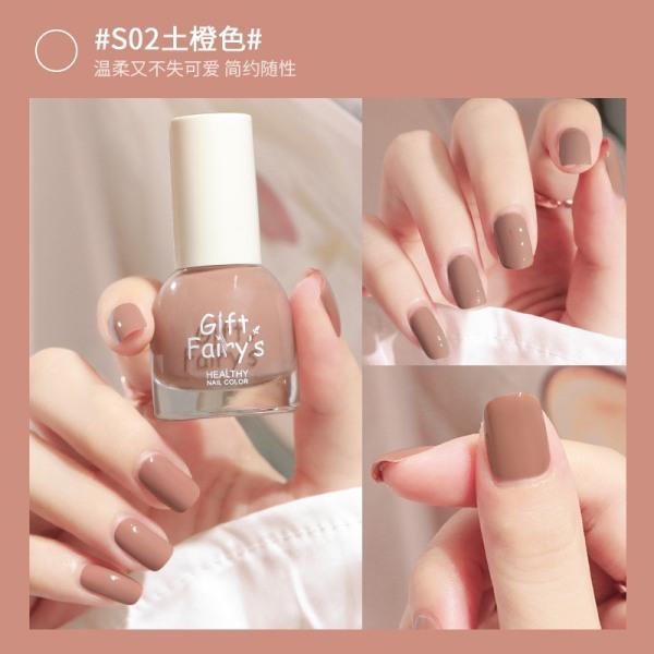 Sơn móng tay màu bóng đẹp KHÔ NHANH siêu an toàn full 40 màu CHAI 10ML giá rẻ