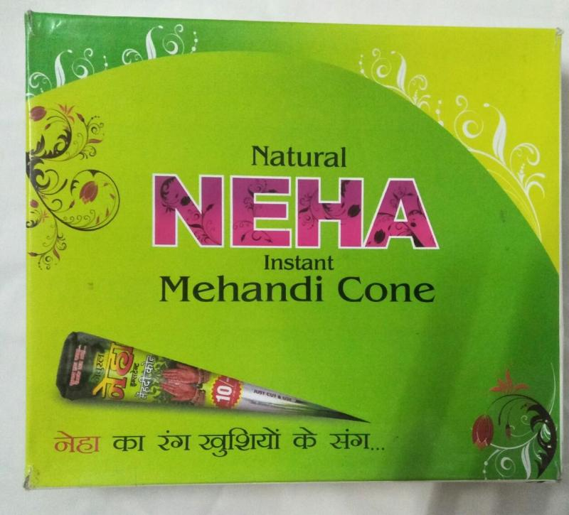 Mực xăm Henna Natural Neha cao cấp