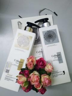 [HÀNG CAO CẤP] COMBO GỘI XẢ COLLAGEN VINGE 1000ml -Hương nước hoa quyến rũ, Bổ sung Collagen, Phục hồi tóc .... (SALE 50%) thumbnail