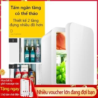 Tủ lạnh mini 8L dùng trên xe oto hoặc gia đình, vừa làm lạnh vừa làm ấm được Redepshop thumbnail