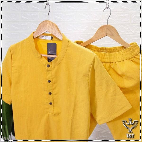 Nơi bán Bộ quần áo đũi nam (BD139) bộ đồ nam vải đũi mặc cực mê với chất vải xốp nhẹ , thoáng mát thấm hút mồ hôi