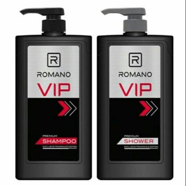 COMBO DẦU GỘI SỮA TẮM ROMANO VIP 650G cao cấp