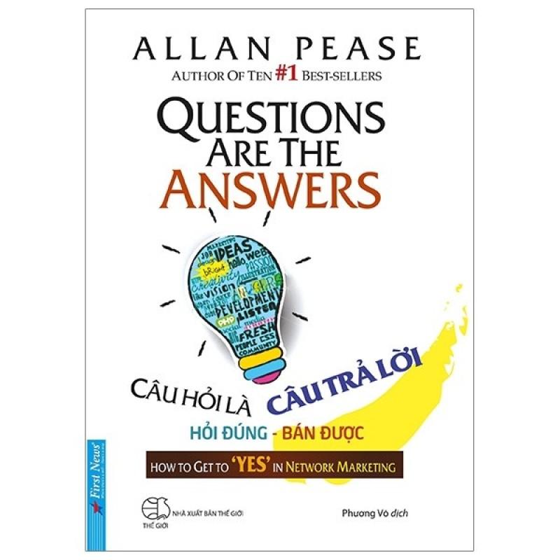 Sách First News - Câu hỏi là câu trả lời