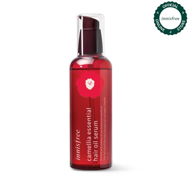 Tinh dầu dưỡng tóc chiết xuất từ hoa trà Innisfree Camellia Essential Hair Oil Serum 100ml