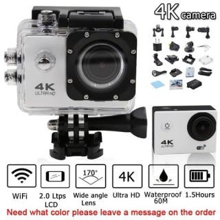CAMERA HÀNH ĐỘNG CHỐNG NƯỚC WIFI 4K ULTRA HD 4K, A19, SJ5000 CÓ REMOTE. Camera Hành Trình Thể Thao - Camera Phượt Xe Máy 4K Ultra HD Wifi. Camera hành trình xe máy SJ5000, 4K,A19 thumbnail