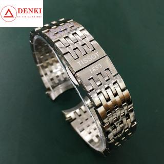 [CAO CẤP] Dây đồng hồ kim loại mắt đúc Tissot 1853 size 19,20mm (2 màu Trắng, Demi Vàng) thumbnail