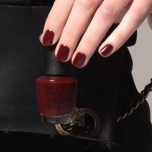 Sơn Móng Tay O.P.I (OPI) màu Đỏ đô Nail Đẹp, Siêu Hot