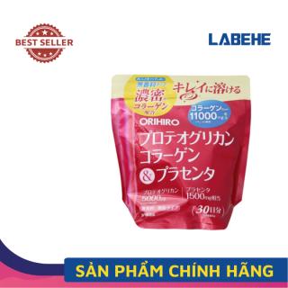 Collagen nhau thai heo làm đẹp da Orihiro Nhật Bản 11000mg 180g - Bột collage uống đẹp da thumbnail