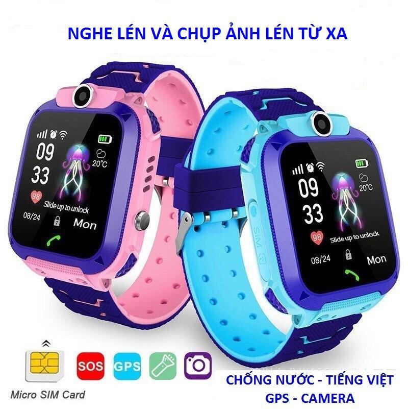 Đồng Hồ Định Vị Trẻ Em A28, Có Tiếng Việt, Chống Nước Ip 67, GPS, Nghe Gọi Hai Chiều,,,New Model 2020 bán chạy